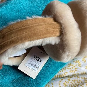 Sheepskin Earmuffs and headband